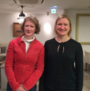 (Left) Joanne Wilkinson, Vintage Kimonos , (Right) Madeleine Pannell, Health and Wellness Coach