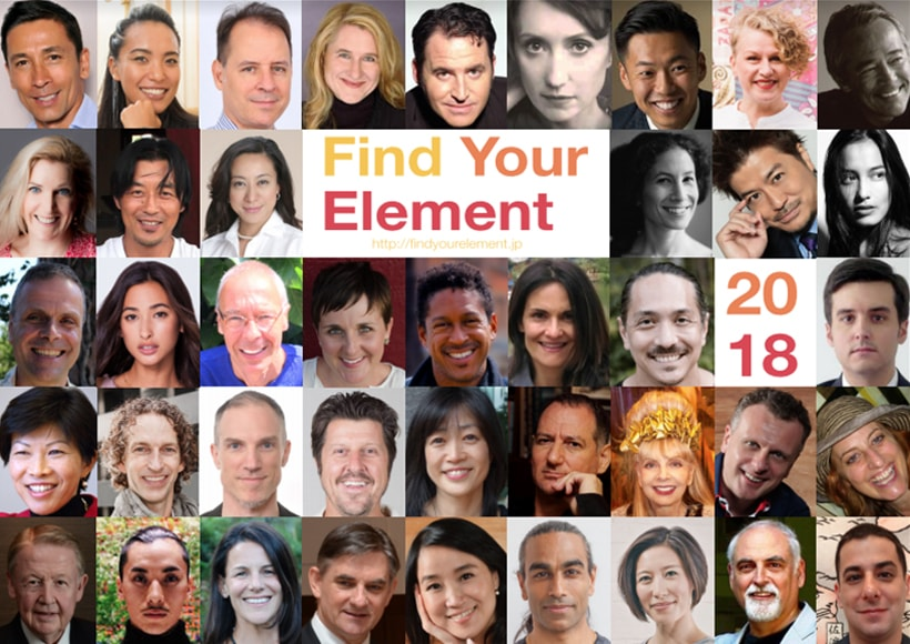 Find Your Element Collage