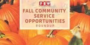 Fall 2018 Community Service Roundup