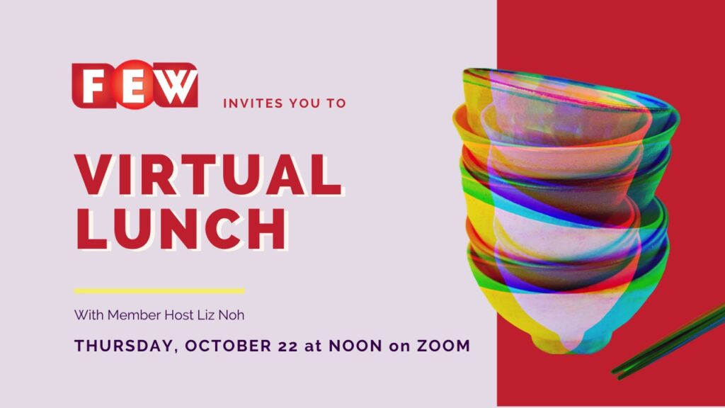 FEW Japan Virtual Lunch October 22